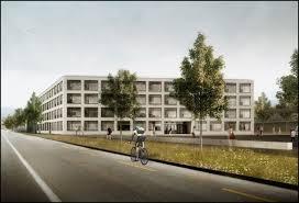 Schulhausneubau in Yverdon-les-Bains