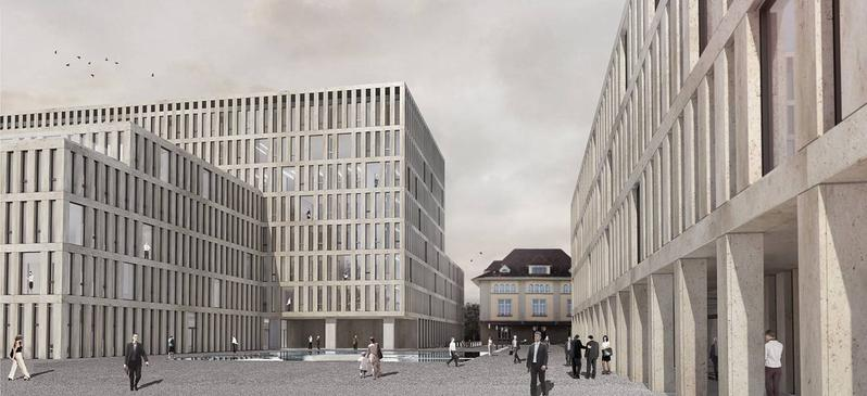Verwaltungszentrum am Guisanplatz