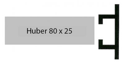 Huber Alu 80 x 25