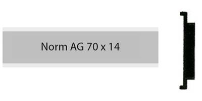 Norm Alu 70 x 14
