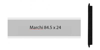 Marchi Alu 84.5 x 24