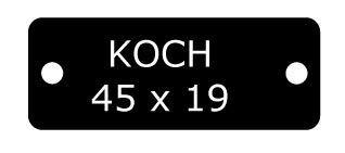KOCH 45x19