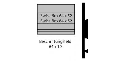 """Norm Swiss Box Schild """"Bitte keine Werbung"""""""